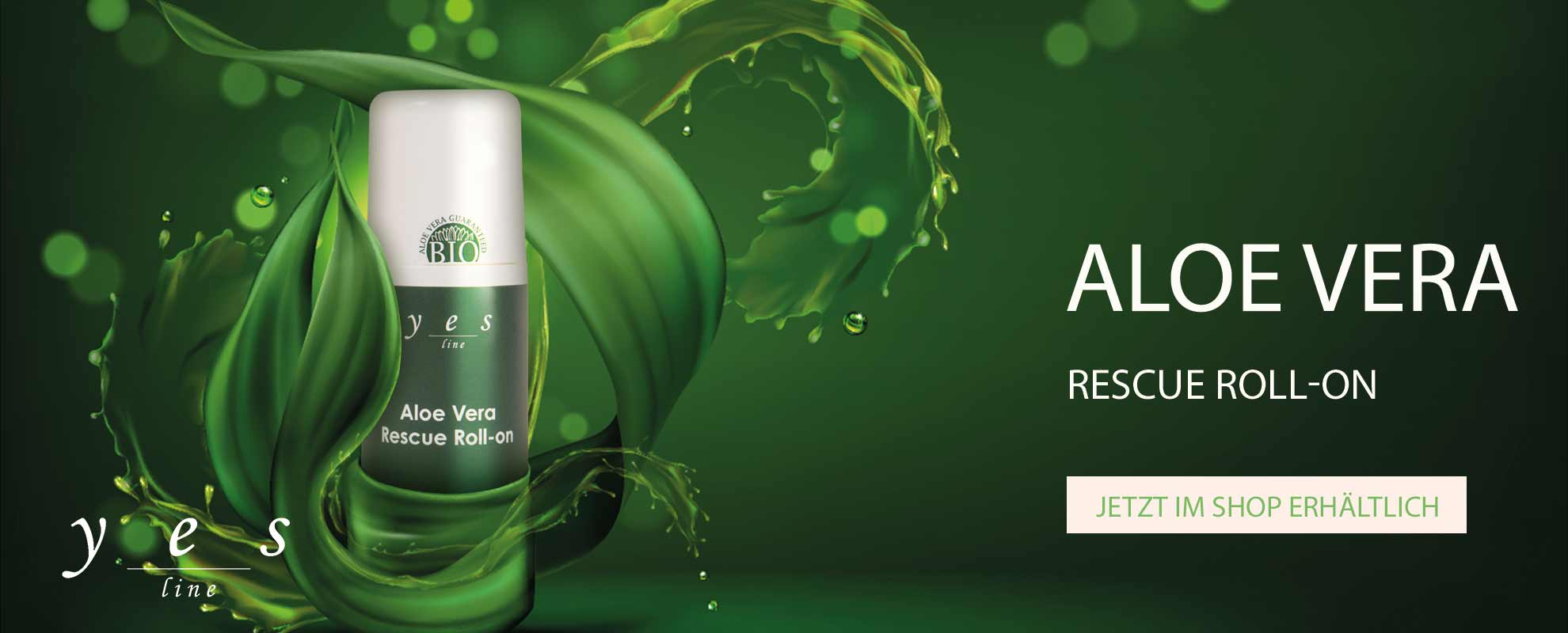 Banner Aloe Vera Rescue Roll-on
